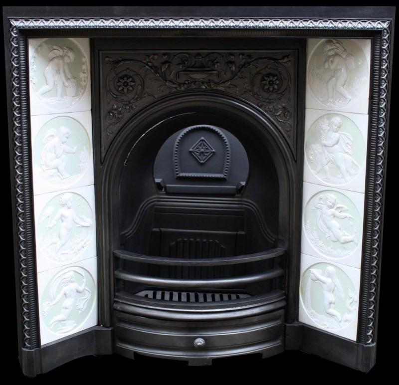 Victorian neo-classicist fireplace. 1875