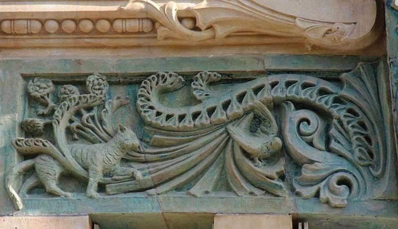 Bigot's ceramic decor on Rapp Street, 29