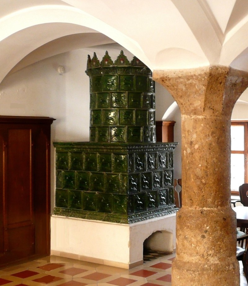 Gothic ceramic tile in Hohenschau
