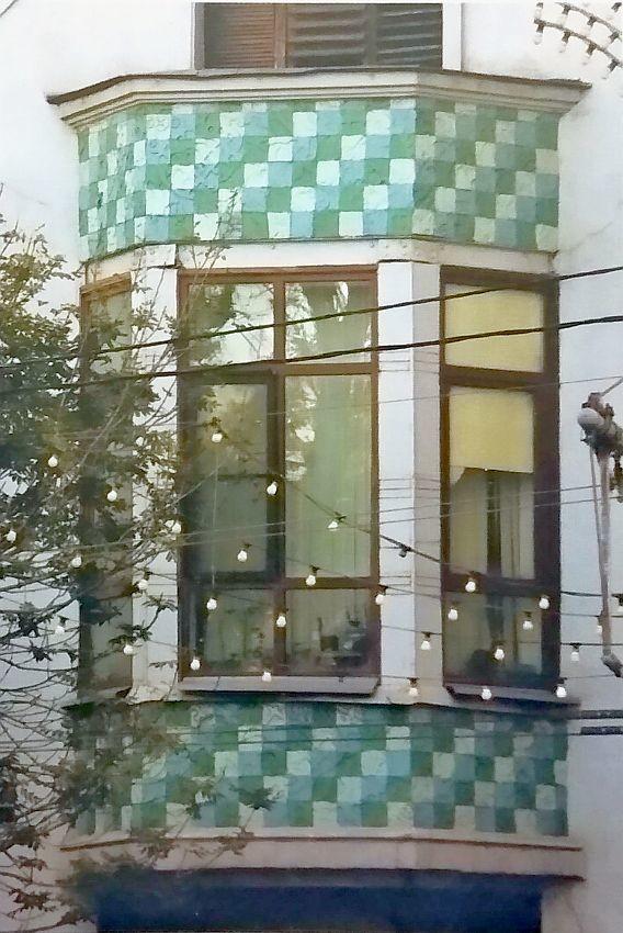 Ceramic frieze of Kazakova's mansion