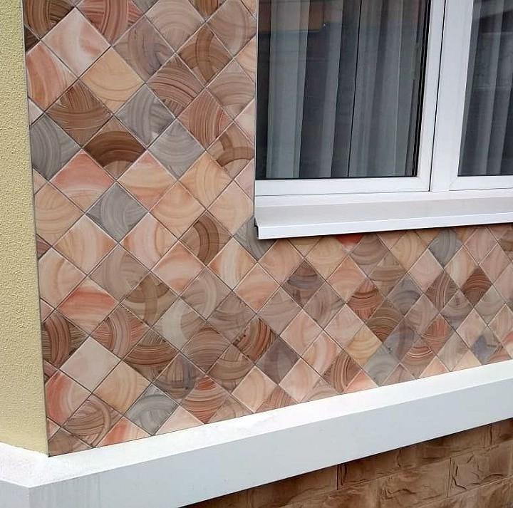 Coffee collection handmade ceramic tiles