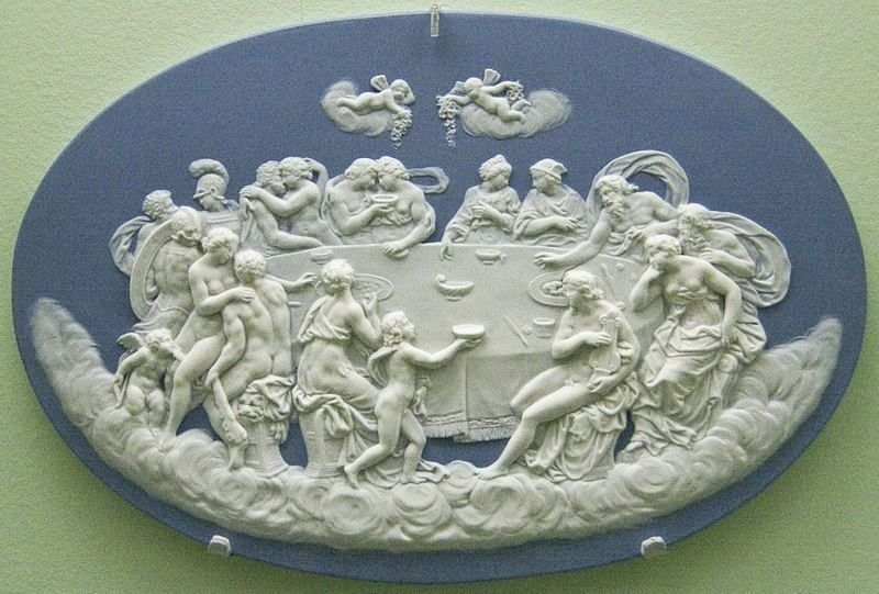 The Feast of the Gods, Wedgwood. 1800