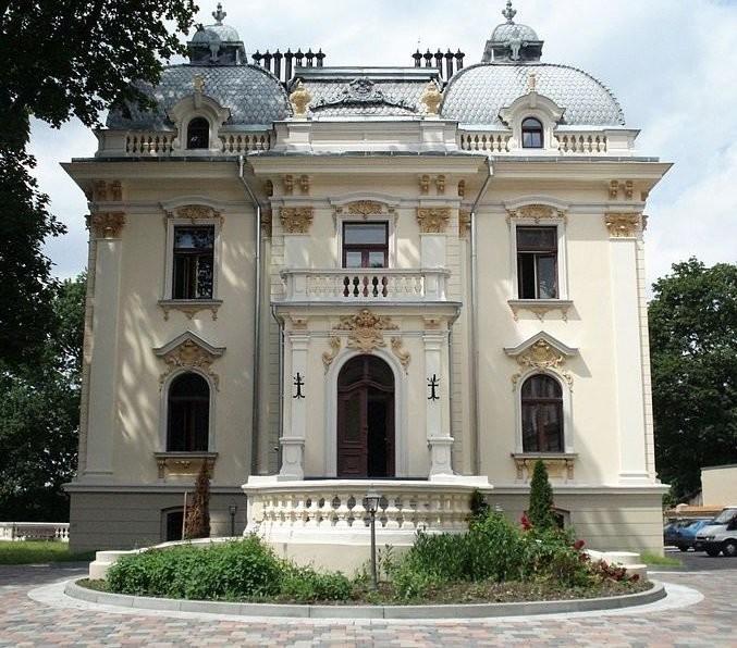 Vileišis Castle. Main building