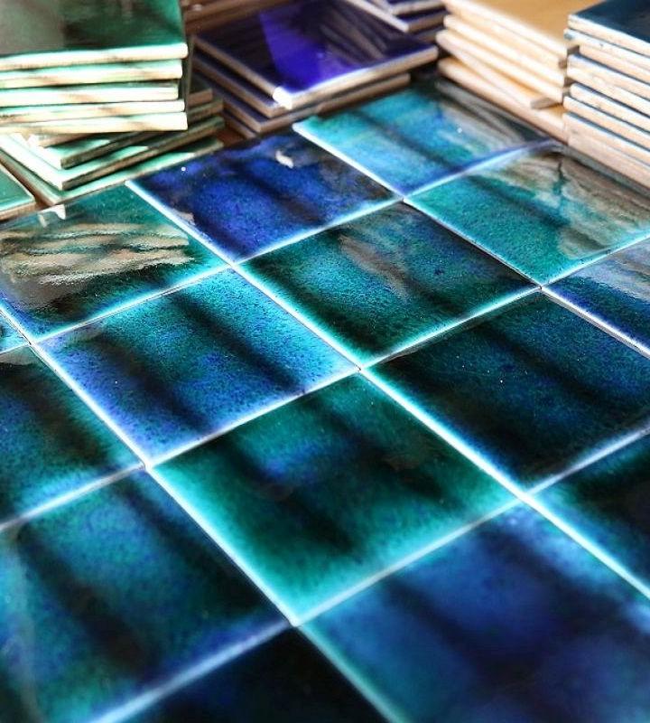 Marine collection facade tiles