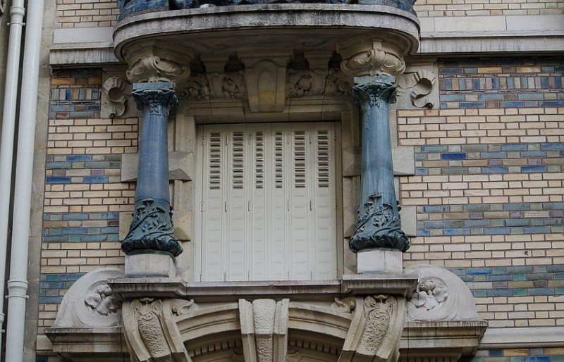 Balconies of the Lavirotte's House