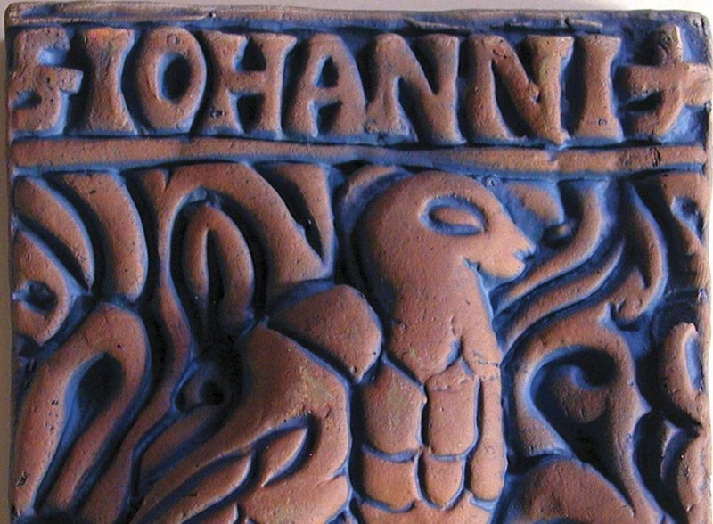 Moravian Pottery's modern works US art ceramic tiles of the early XX century