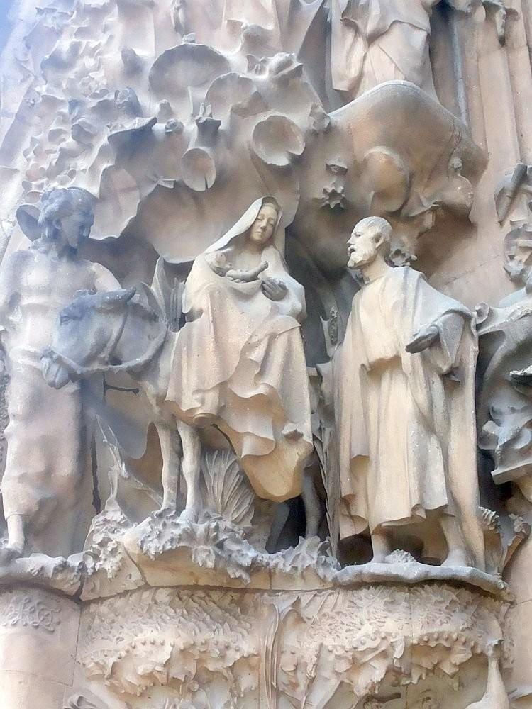 Nativity of Christ on Nativity facade