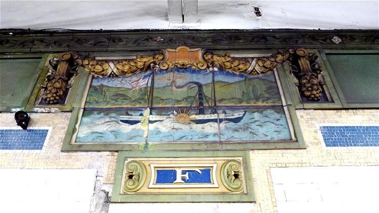 A tile by Mosaic Tile Company
