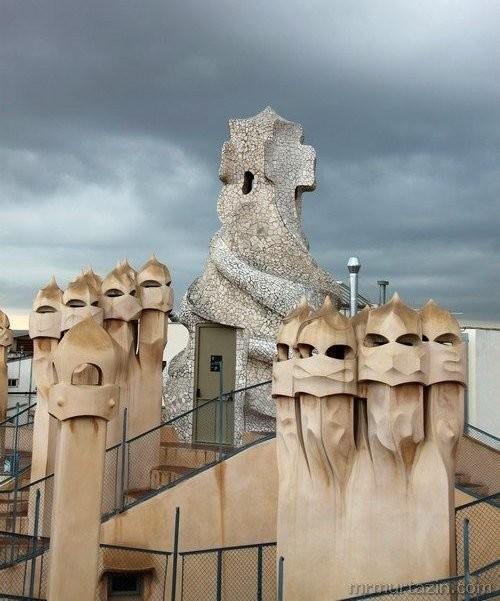 Casa Milа chimneys
