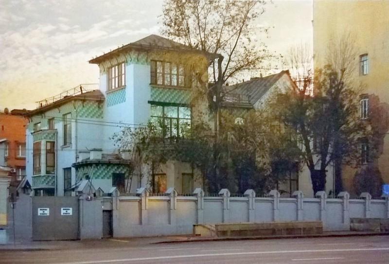 V.S. Kazakova's mansion on Sadovaya-Spasskaya street