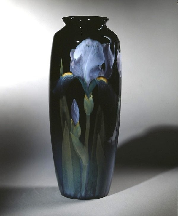 A vase by Rookwood Pottery. Artist - Karl Smidt. 1903