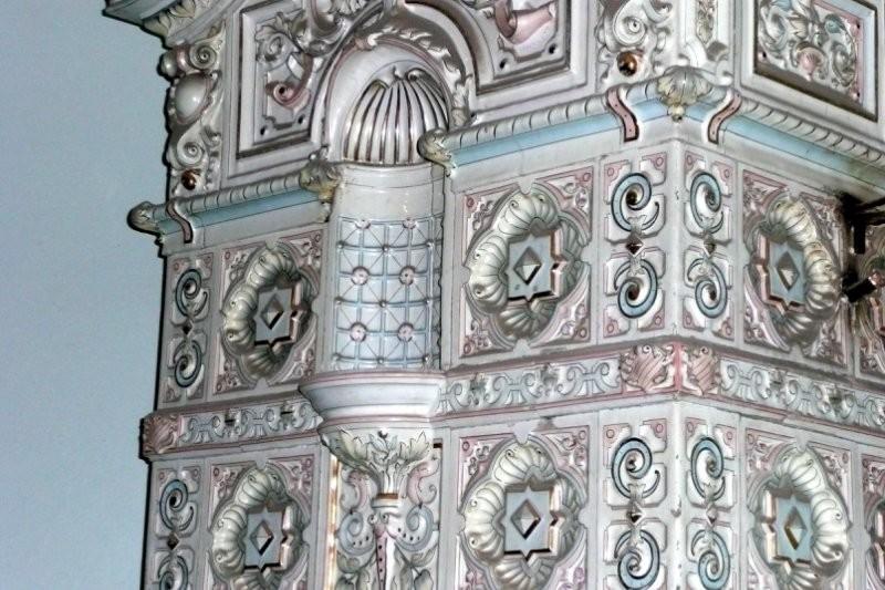 Abo furnace in Pastukhov's house in St. Petersburg