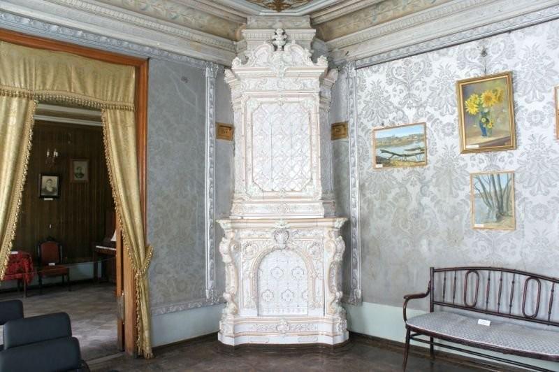 Abo furnace in Dyakov's house in Balashevo
