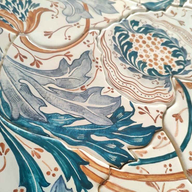 La fresque ceramique Fait à la main