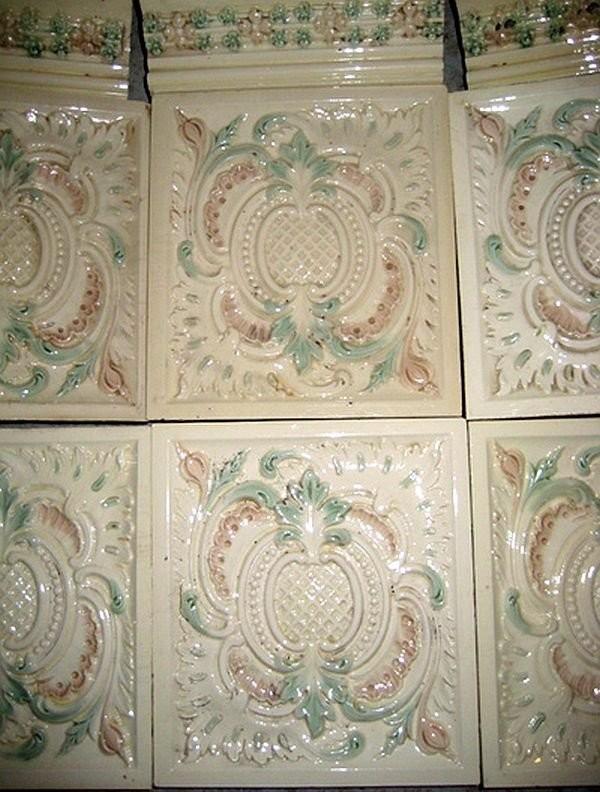 Ernst Teichert's tiles. 1900