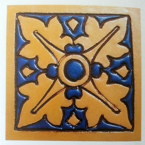 A tile by Mueller Mosaic Company