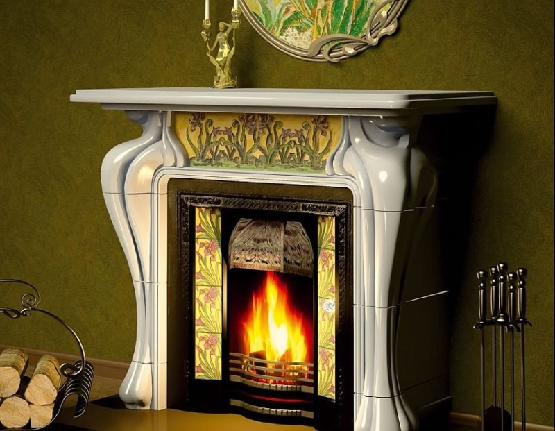 Pallada Art Nouveau stove
