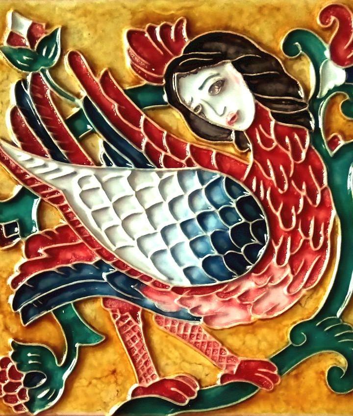 Fairytale relief tiles