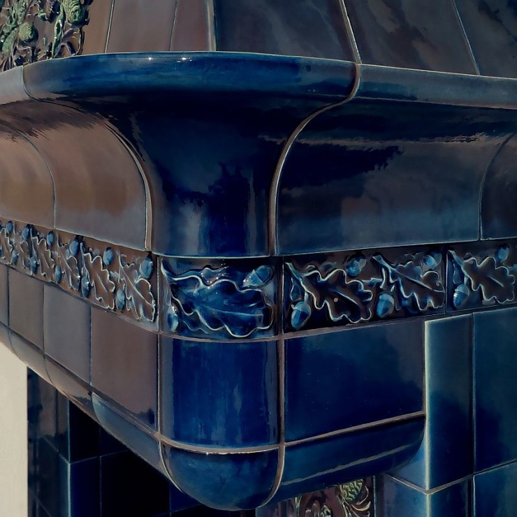 Cheminée de style Art Nouveau