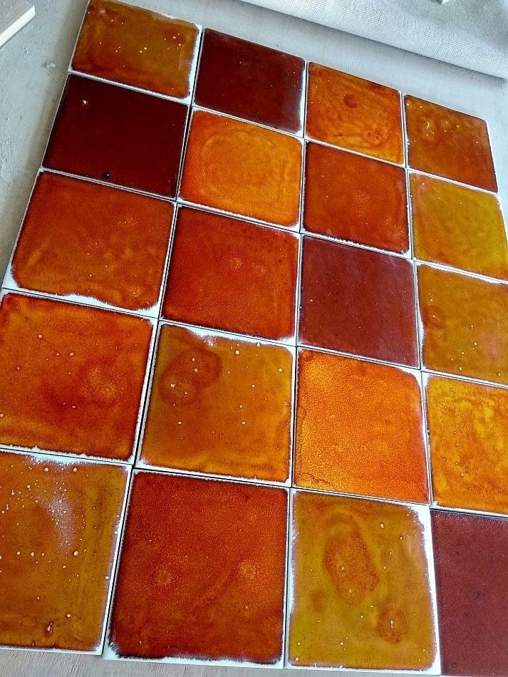 flaming collection facade ceramic tiles