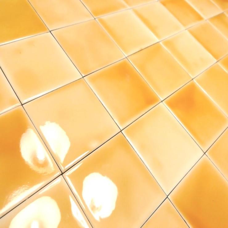 Facade ceramic tiles