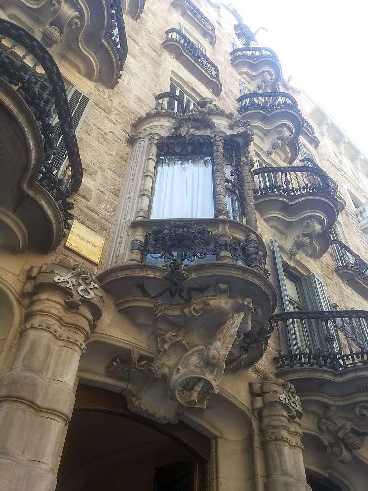 Casa Calvet. Gaudi