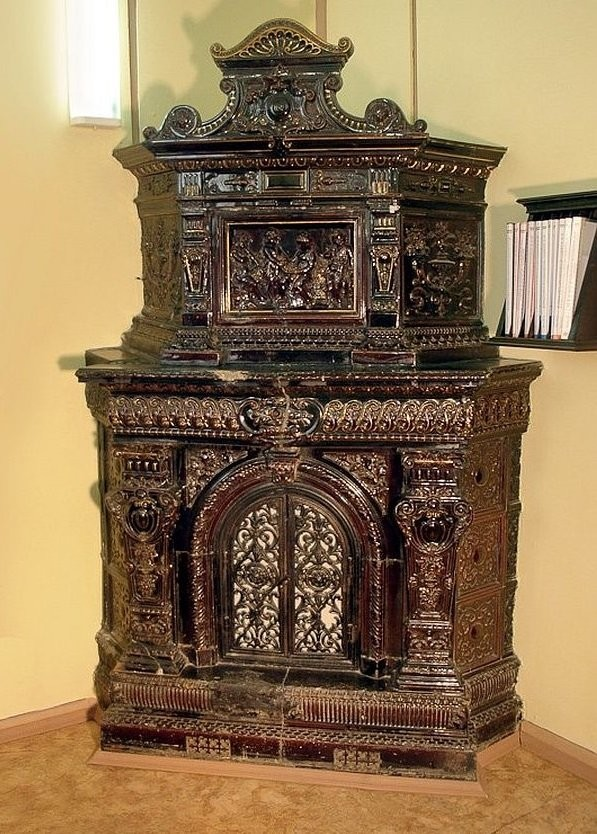 Abo stove in G.A. Khaimovich's house in St. Petersburg