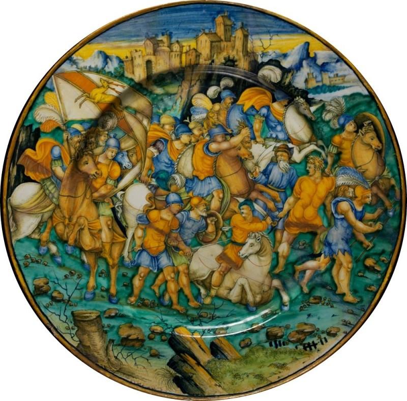 Baldassar Manara, battle of Romans