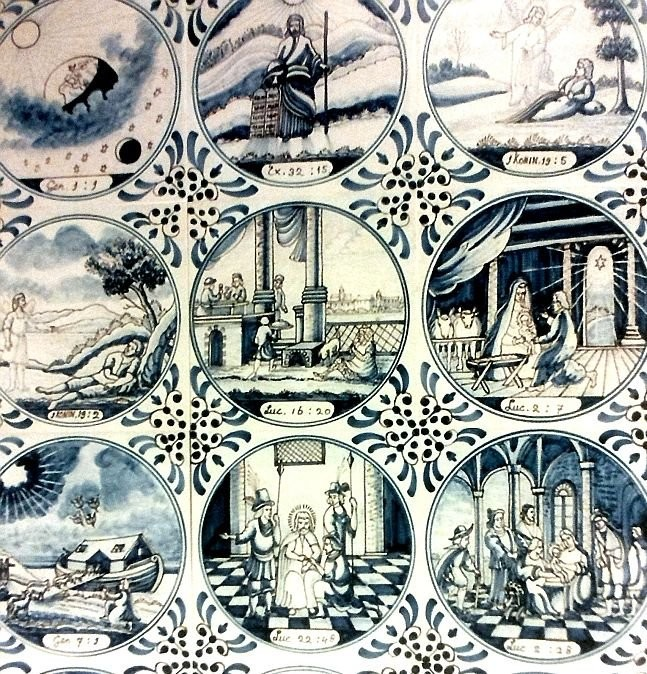 Delft biblical tiles