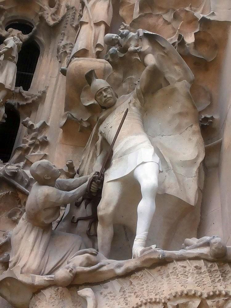The Massacre of the Innocents on Nativity facade