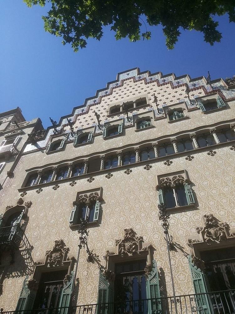 The Block's Casa Amatller by Josep Puig i Cadafalch