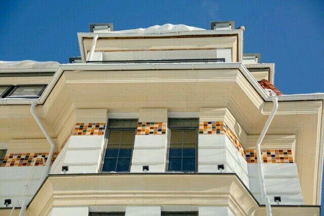 Klimt collection facade ceramic tiles
