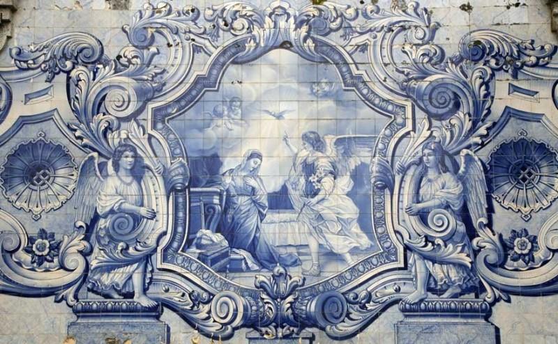 Portuguese azulejos, 18th century