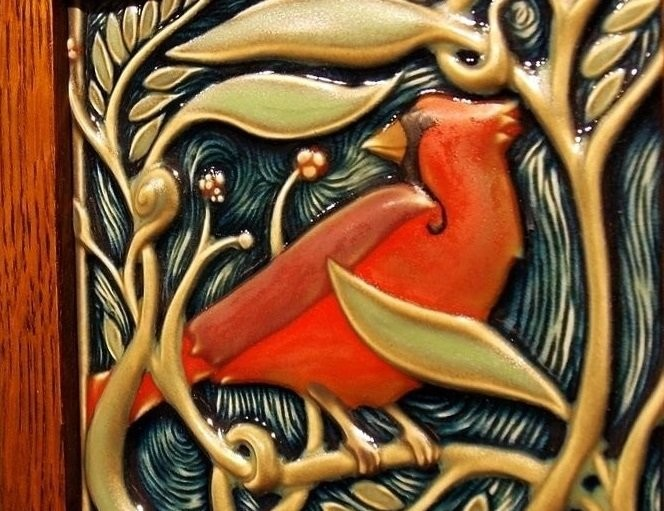 Rookwood's modern works US art ceramic tiles of the early XX century