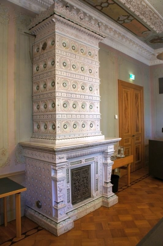 Abo furnace in Junnelius's palace in Pori