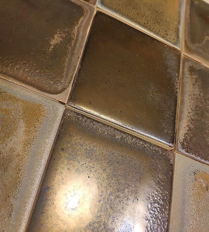 Metallic collection facade ceramic tiles
