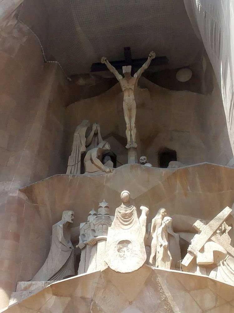 The Passion of Christ facade