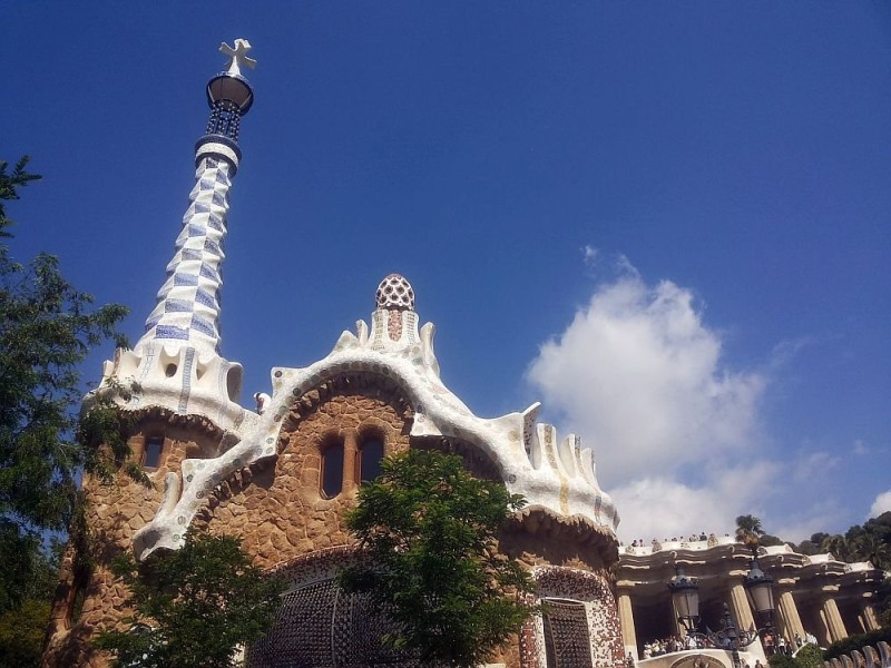 Park Guell. Antonio Gaudi