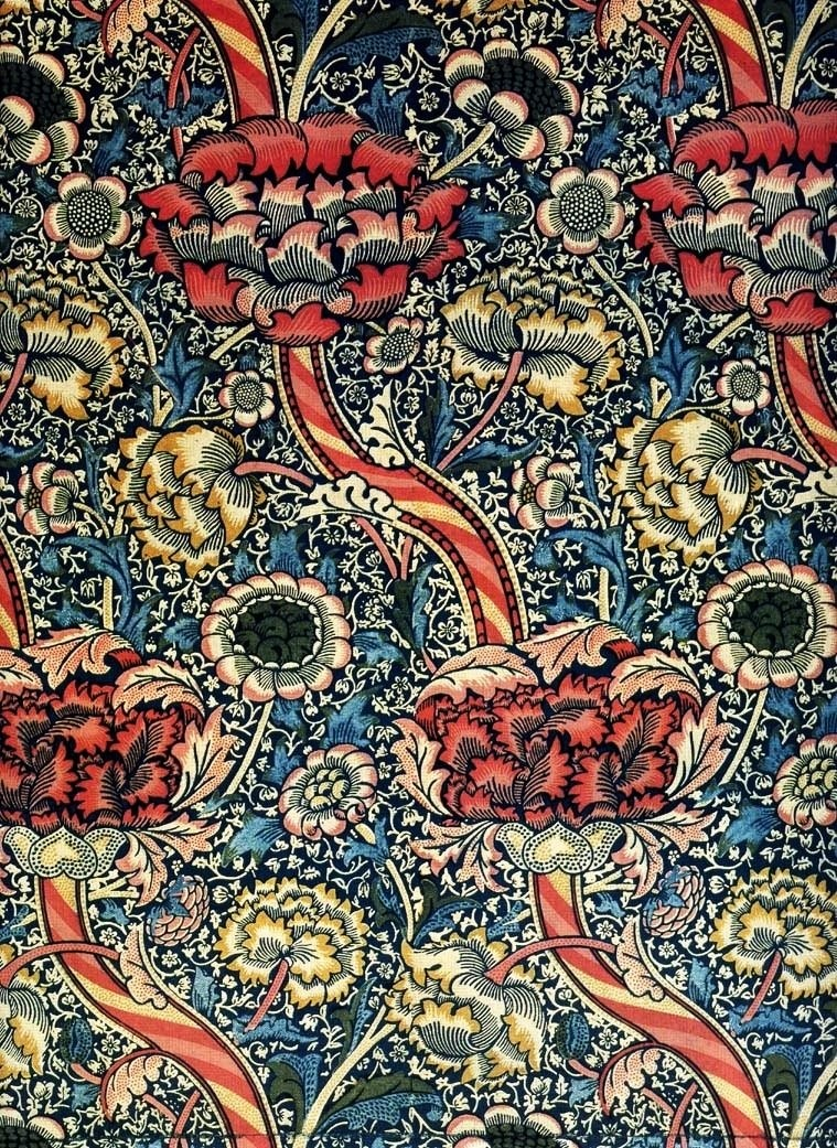 Ornamental wallpaper made by Morris and Co