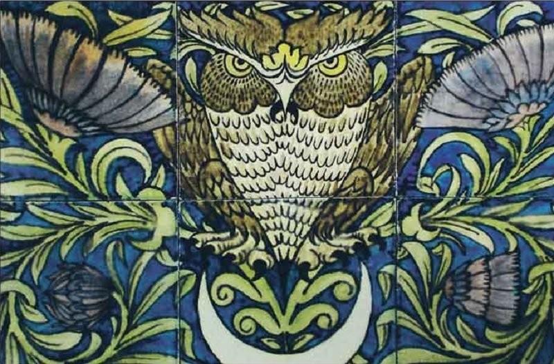 De Morgan's ceramic tiles
