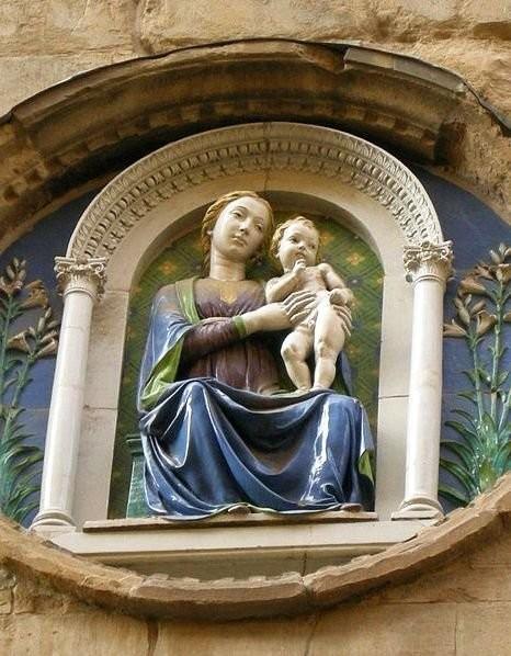 Orsanmichele Madonna, Luca Della Robbia